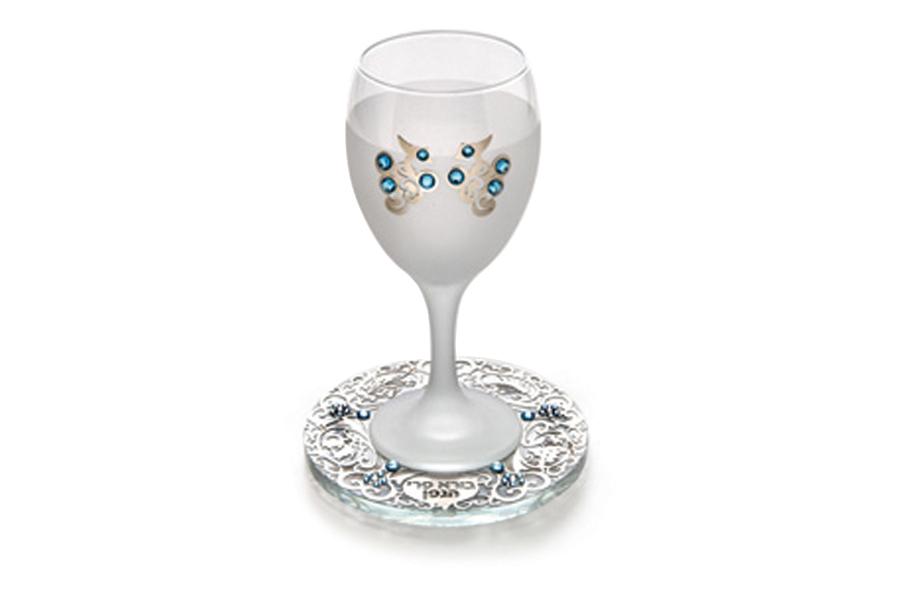 20.CRYSTAL KIDDUSH CUP