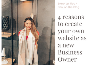4 Reasons to create your own website as a new business owner