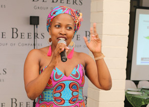 Boniswa Dladla, talks about empowering individuals to shift how they think in order to show up more