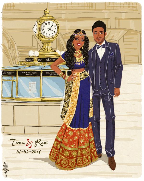 Teena & Ravi from NY
