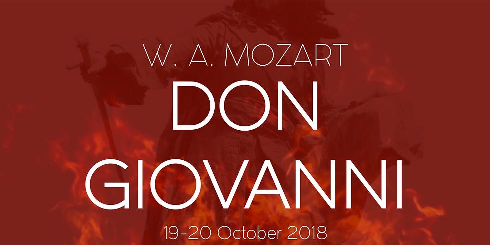 DON GIOVANNI - W. A. MOZART