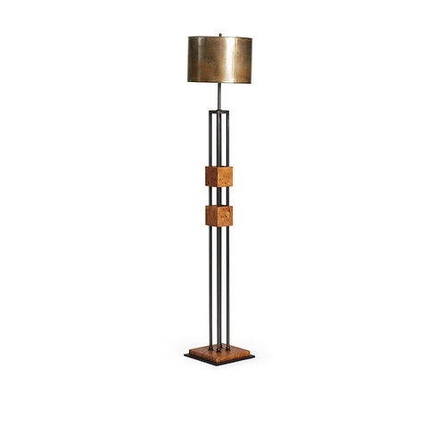 Joseph Stannard Design Floor Lamp with Metal Shade