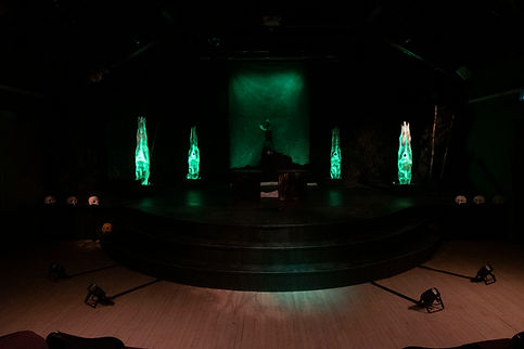Scenic Design for IF WE WERE BIRDS, In Your Eyes Projects, theatre in Sault Ste. Marie, Ontario