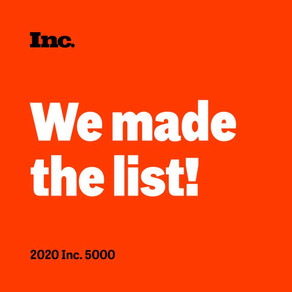 Inc. Recognizes Bold Screen Media as One of Inc. Top 5000 List for 2020