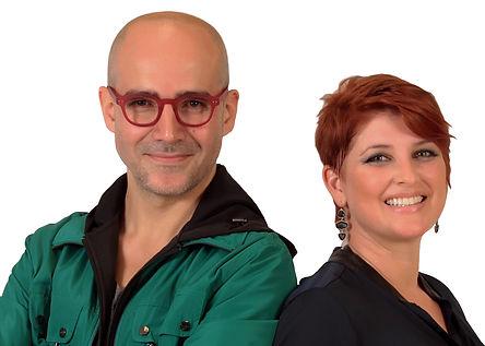 Santiago Gil y Cristina Restrepo