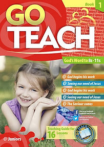 Go Teach booklet with a girl on the cover