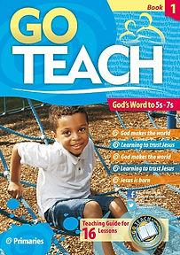 Go Teach booklet with a boy on the cover