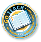 Go Teach badge - teaching the Bible to Children and Young People