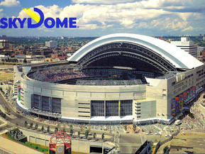 So Rogers might be selling the naming rights to the Centre the people call Dome!