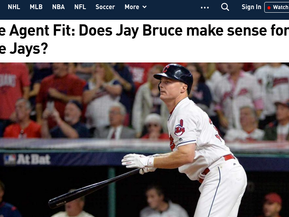 It's Official! Jay Bruce Is Not Going To Be A Blue Jay, Like Ever - Maybe!