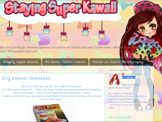 STAYING SUPER KAWAII POSTS A KICK ROCKIN WRITE UP!