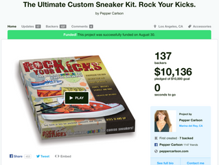 The Ultimate Custom Sneaker Kit.