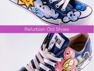Don't throw old shoes away. Make them new today.