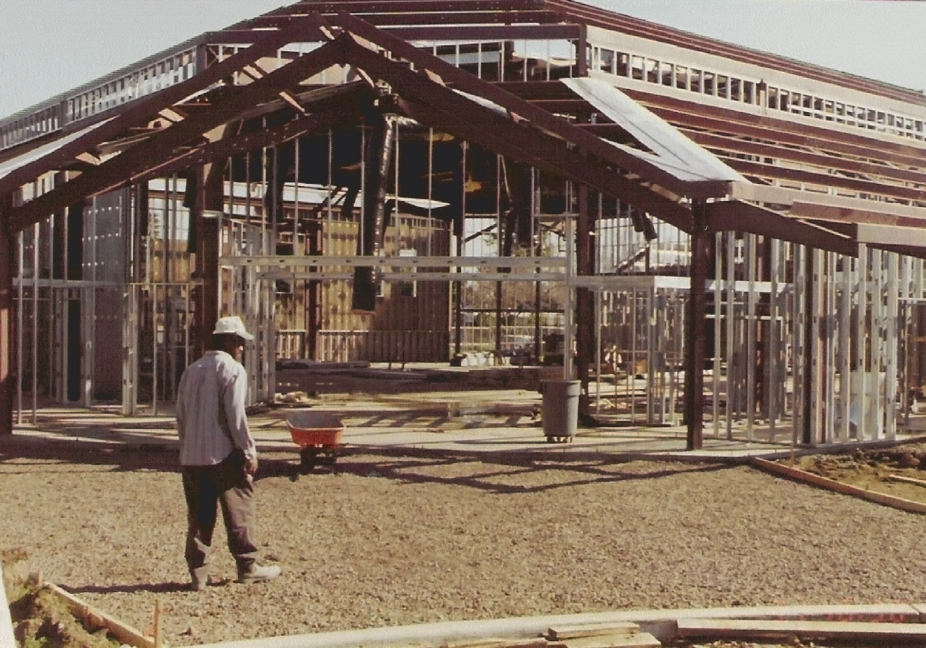Church being Built
