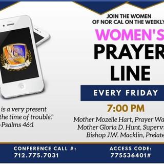 Women's Prayer Online