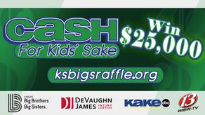 Cash For Kids' Sake Raffle 2020