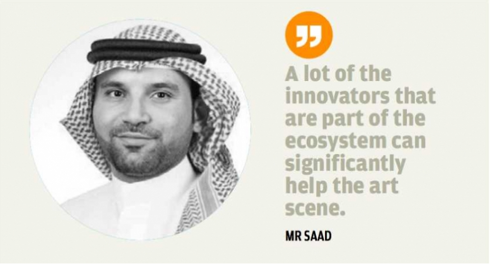 Khalid Saad, CEO of Bahrain FinTech Bay