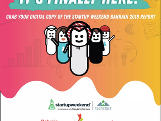 What went down at Startup Weekend Bahrain 2018? Read all about it in this newly launched report