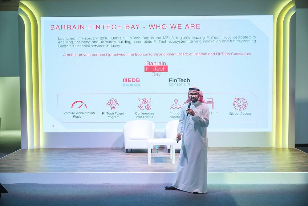 Khalid Saad - CEO of Bahrain FinTech Bay