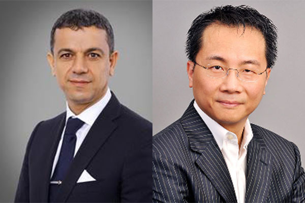 Abdelilah Belatik and Prof Chris WH Chan