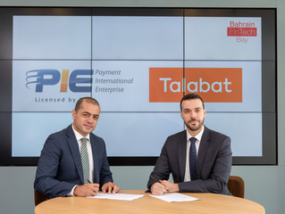 PIE and Talabat sign FinTech accord