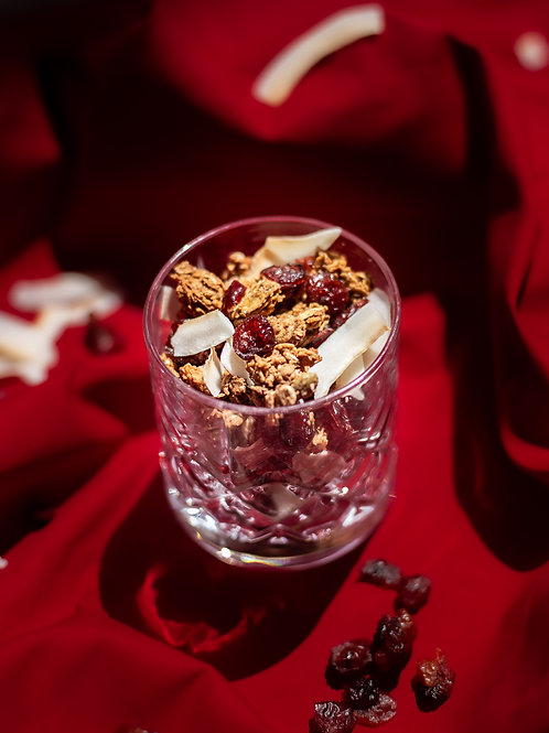 Coconut and Cranberry Granola