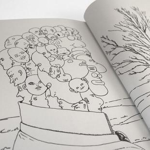 Leon MARET Léon maret bd illustration bande-dessinée bédé sauve les chauves