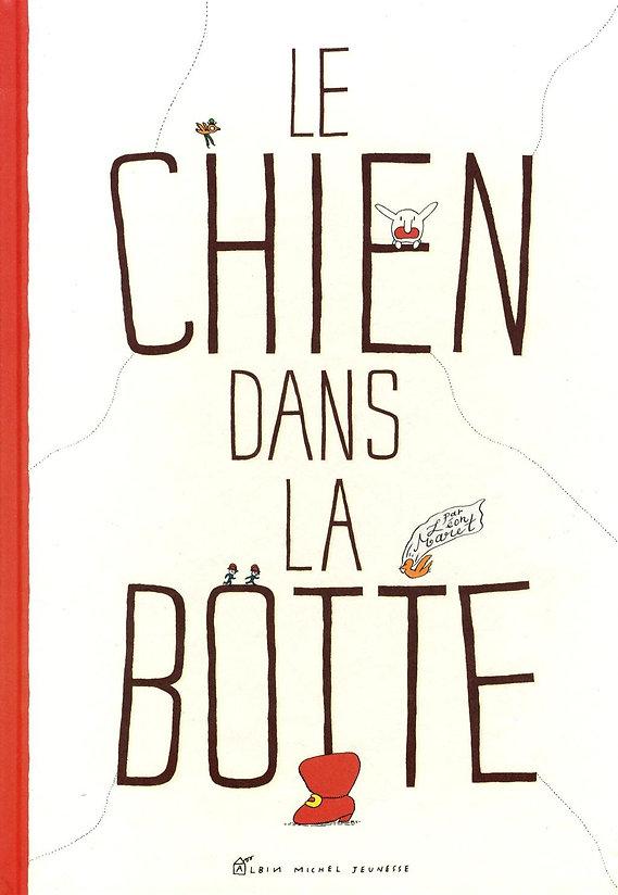 Leon MARET Léon maret bd illustration bande-dessinée bédé le chien dans la botte albin michel