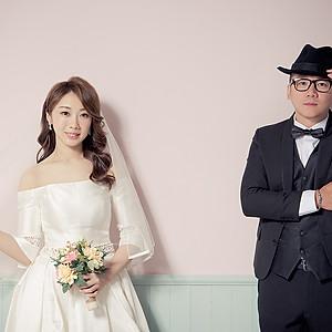 韓式棚拍婚紗