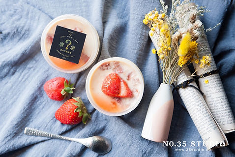 35studio,壞壞咖啡,美食攝影,草莓季,商品情境攝影,商業攝影,商品攝影,台北市攝影棚,商攝,產品攝影,商品形象,commercial food photography,pudding,下午茶,草莓