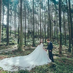 花草風景森林系婚紗