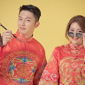 中式婚紗旗袍龍鳳褂