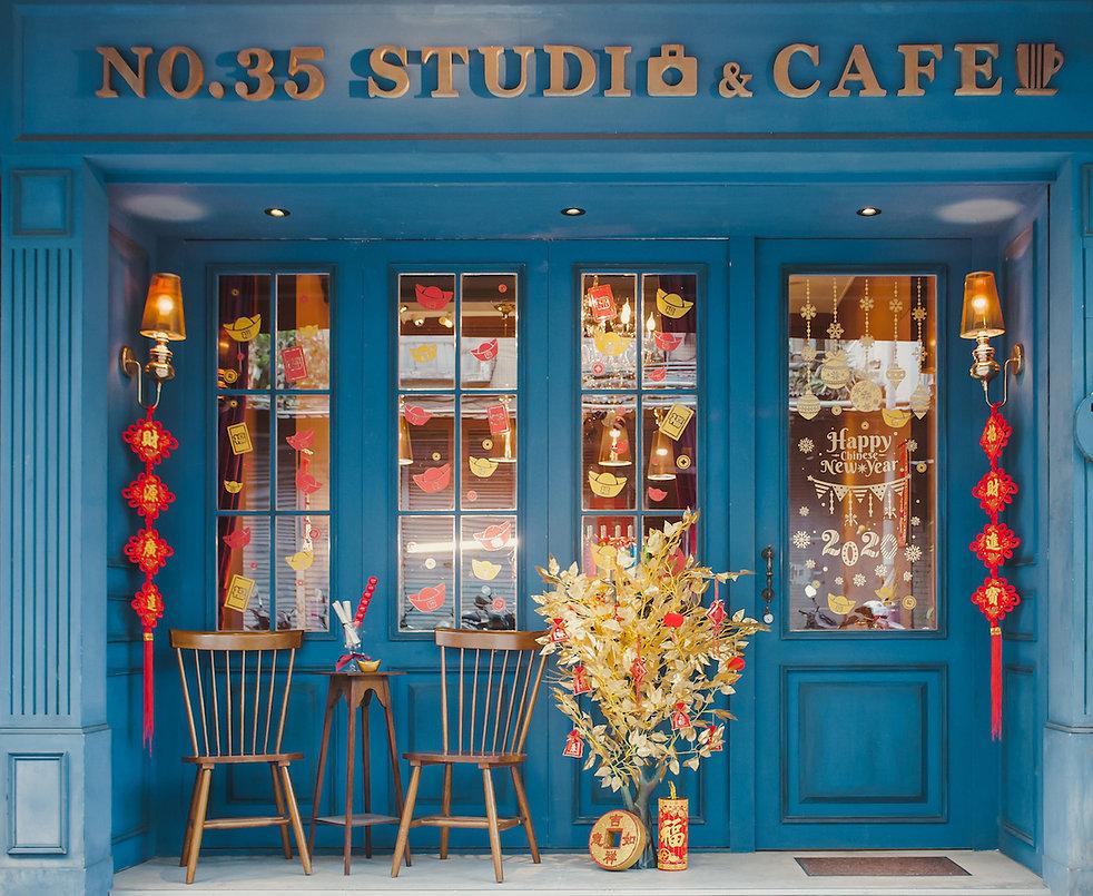 預告:新年主題場景攝影棚出租 | No.35studio | 台北市攝影棚推薦 | 咖啡店 | 白棚無縫牆 | 花牆 | 場地出租 | 参拾伍號攝影棚
