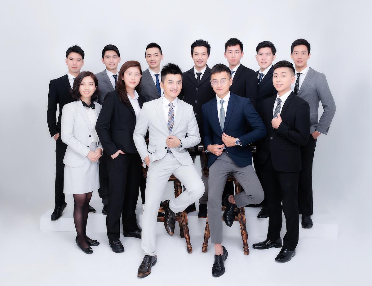 35studio商業人像-保險經紀團隊-專業人士形象照,演員試鏡照,團隊照,宣傳照