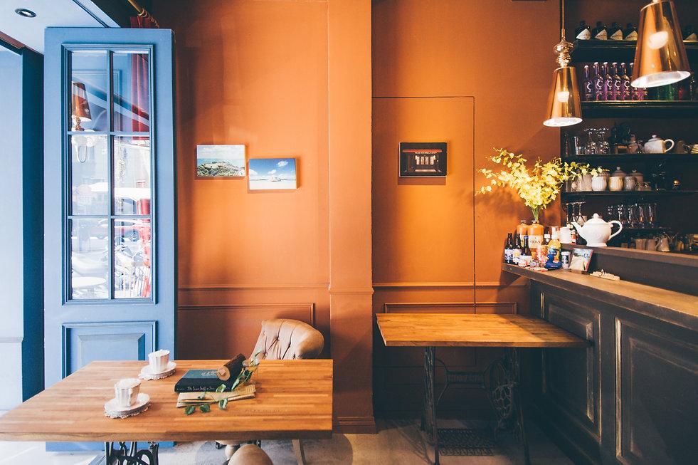 主題場景攝影棚出租 | No.35studio | 台北市攝影棚推薦 | 咖啡店 | 白棚無縫牆 | 花牆 | 場地出租 | 参拾伍號攝影棚