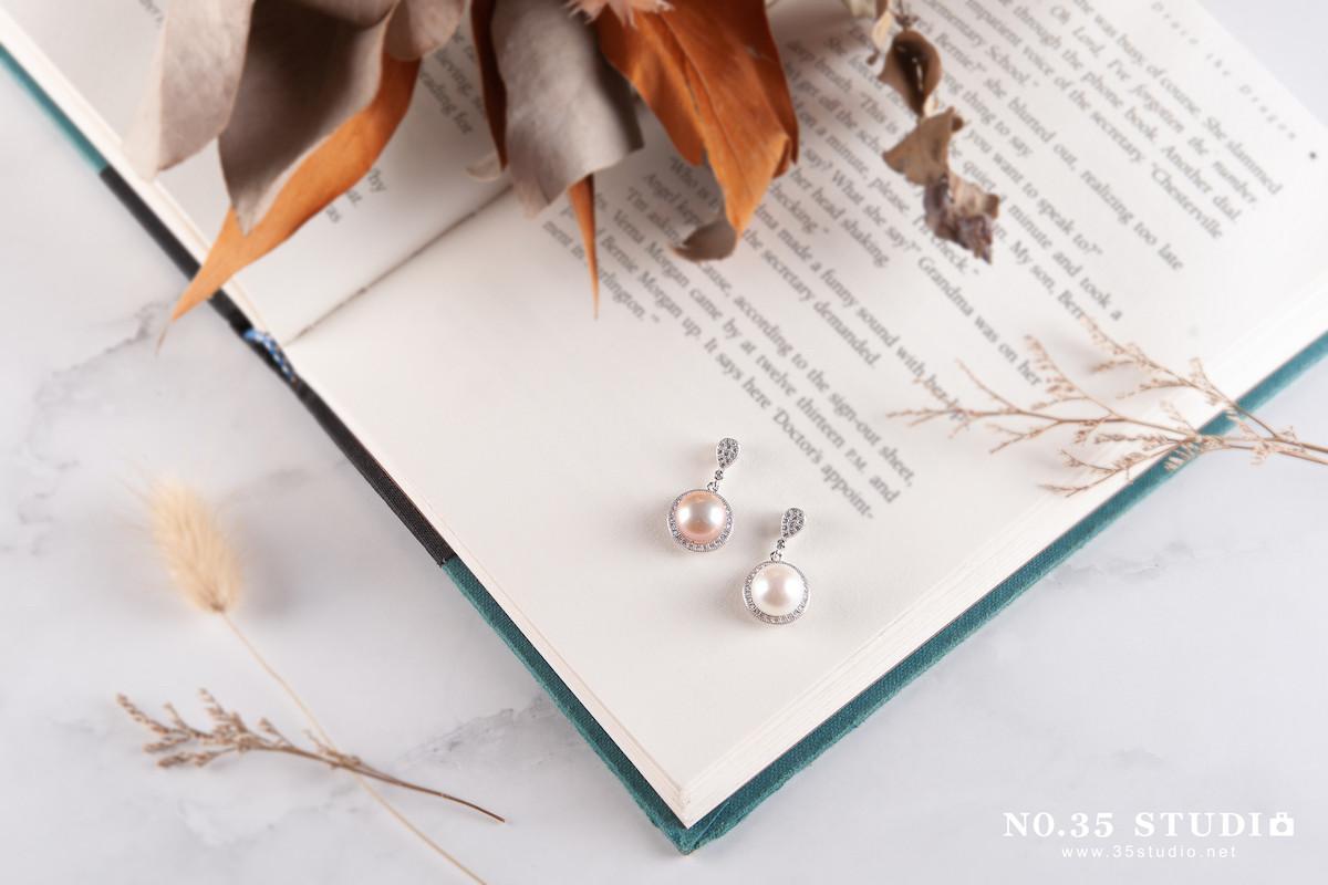 Venus&S珍珠飾品穿搭