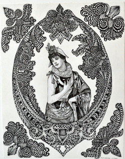 Old Victorian Masquerade Ball