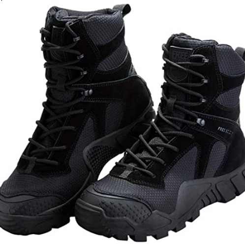 Tactical Military Boots Suede Leather (Men's)