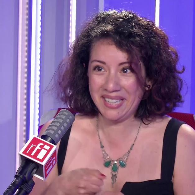 MAYA VILLANUEVA INVITÉE SUR RFI INTERNATIONAL