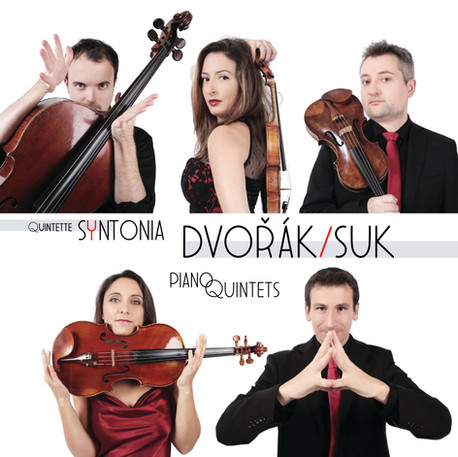 Dvorak & Suk - Piano quintets