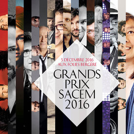Grands Prix Sacem 2016