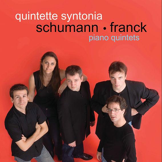 Schumann & Franck - Piano quintets