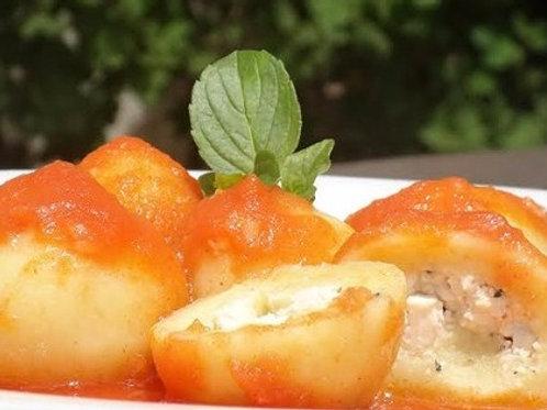 Nhoque de Batata Doce com Tofú Sem Glúten - Alere Gourmet