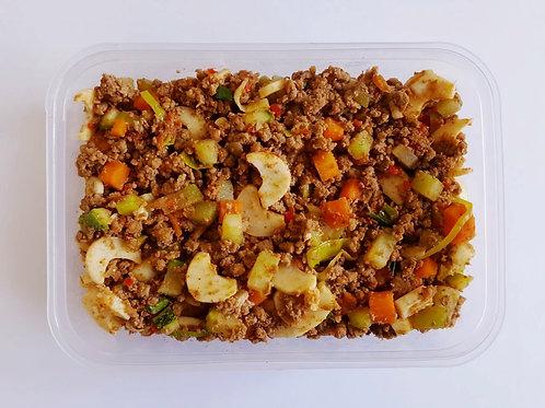 Carne Moída com Palmito Natural e Legumes Versatile
