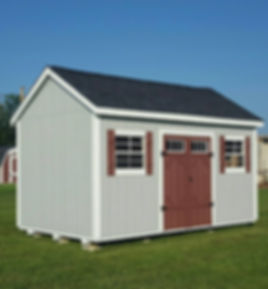 custom wood shed