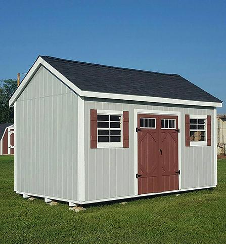 custom wood shed