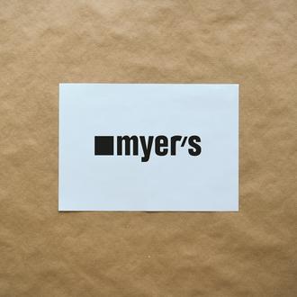 — MYER'S