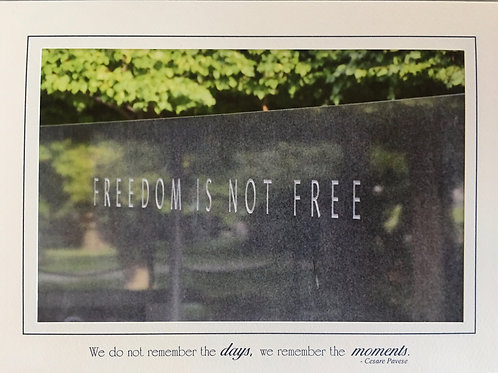 C-8596 Freedom Is Not Free