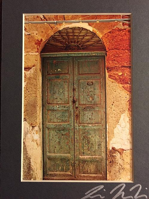 M5x7-3121 Italy Green Door