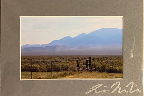 M5x7-3796 Nevada Backyard Mountains Fence